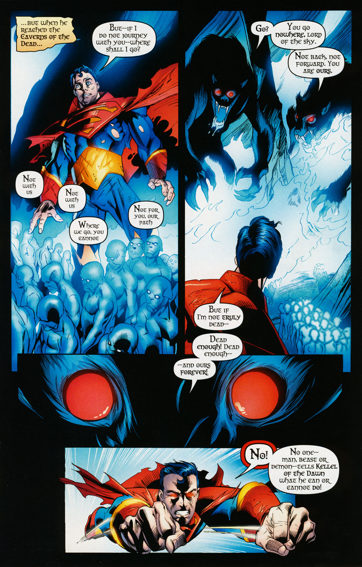 Read online Trinity (2008) comic -  Issue #35 - 22