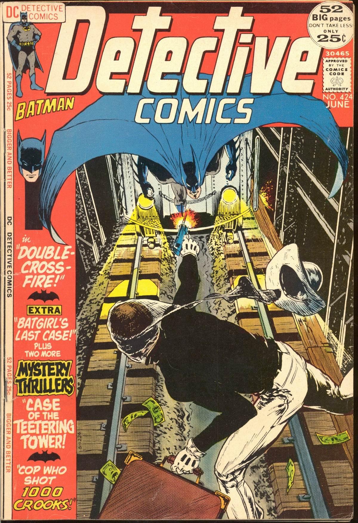 Detective Comics (1937) 424 Page 1