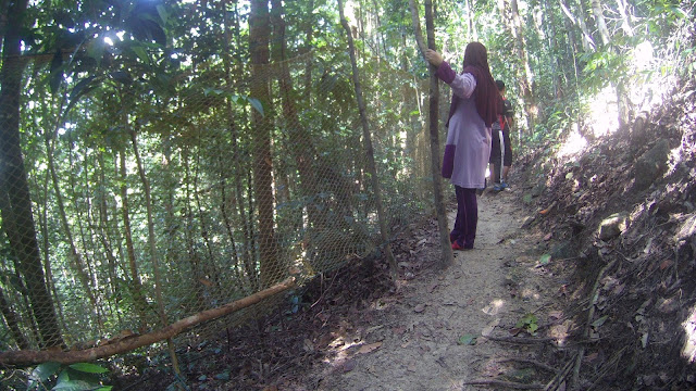 Hiking on Peak 300, Teluk Batik