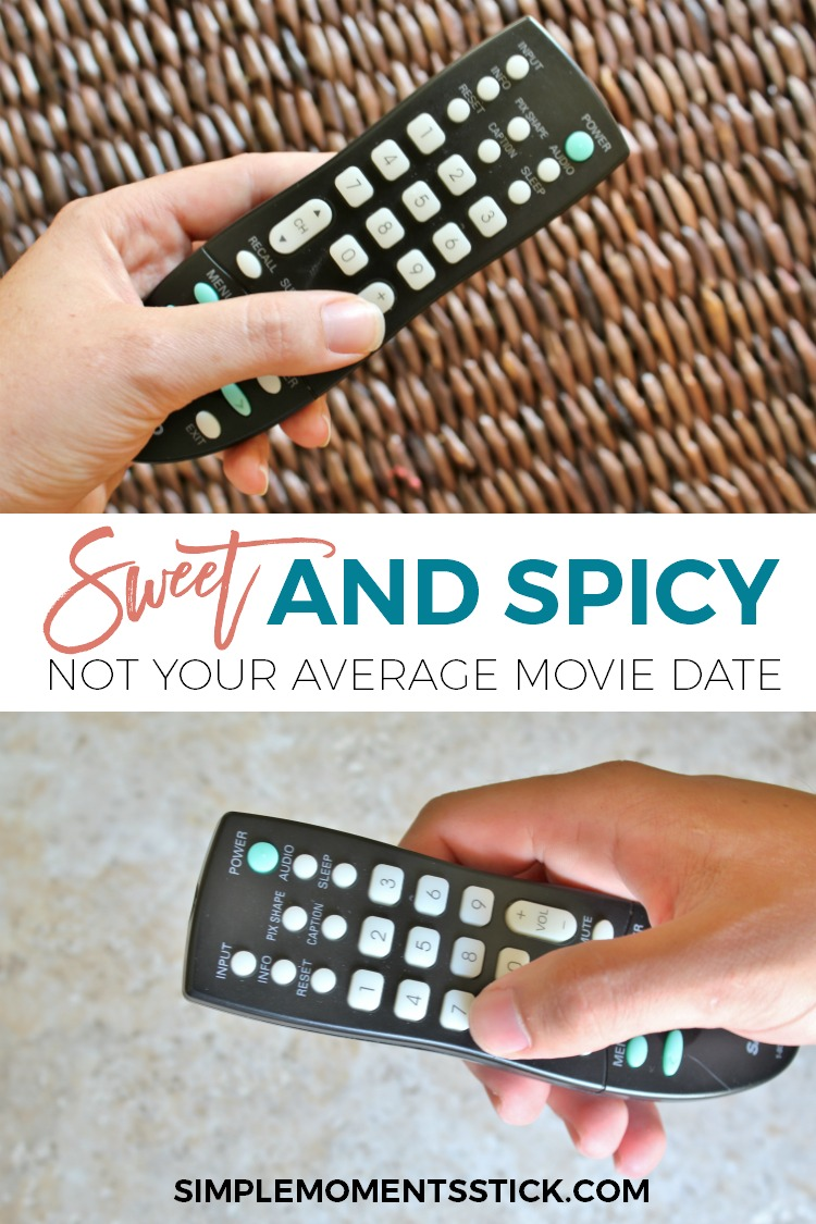 Even though we're parents, we shouldn't put dating our spouses on the back burner.  The average movie date night is good and all but sometimes you just need to add a little special kick.  Click through to read all about an extra creative movie date night!