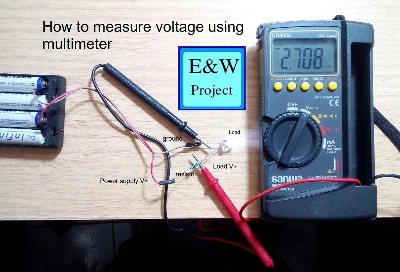 How to use a digital multimeter how to using multimeter measure ampere biocorpaavc