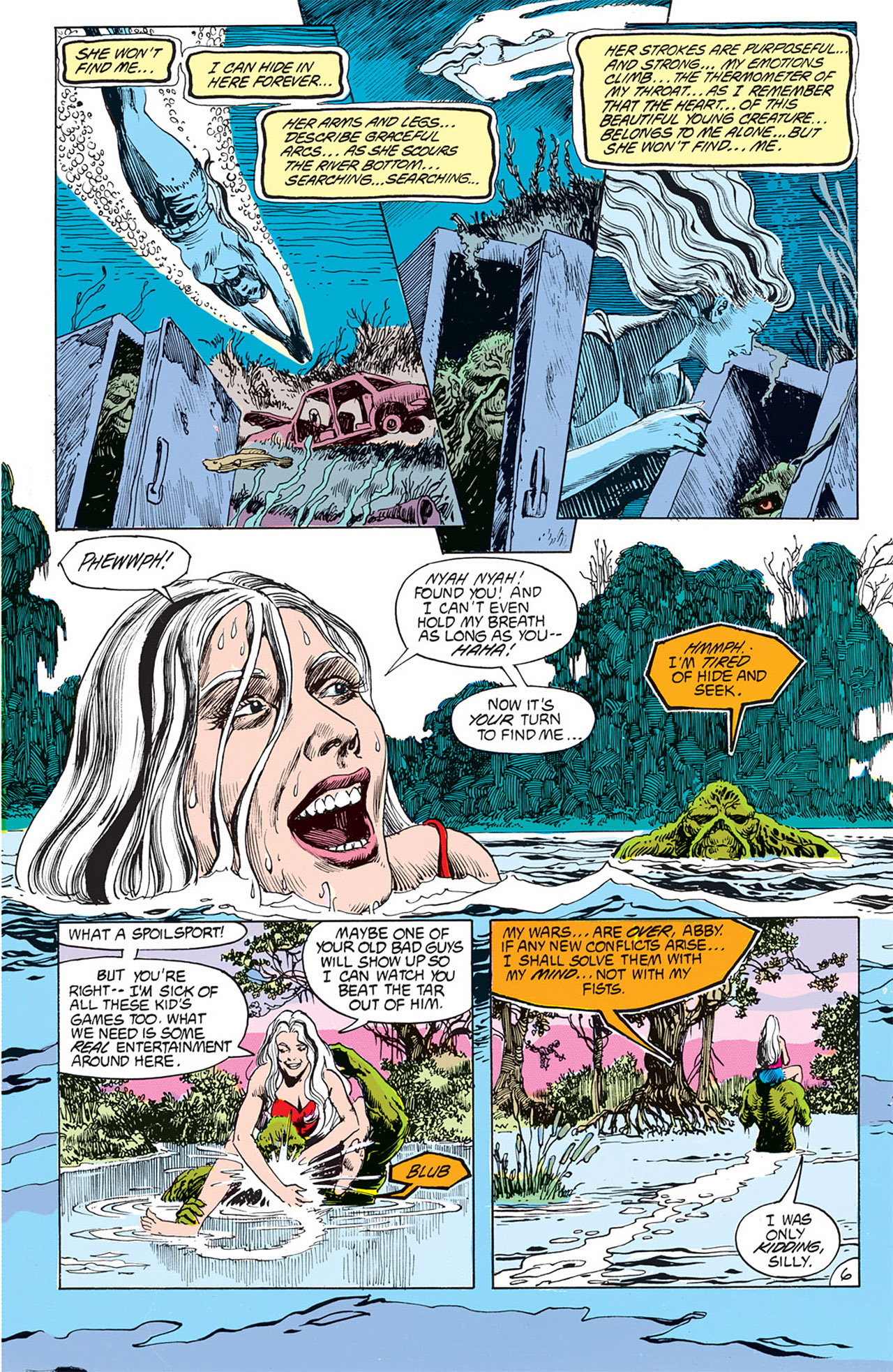 Swamp Thing (1982) Issue #67 #75 - English 8