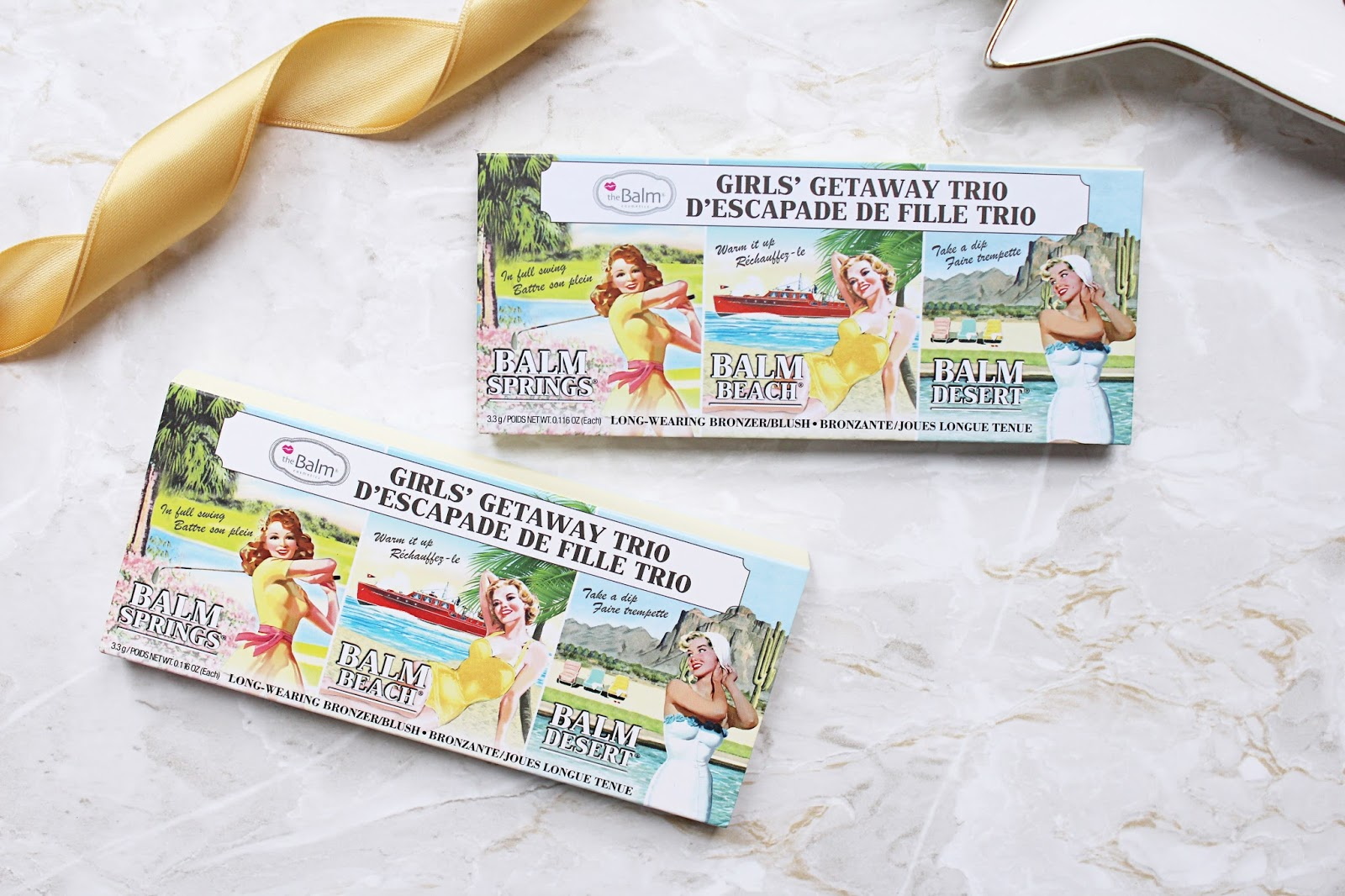 theBalm Girls Getaway Trio Review