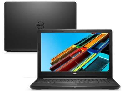 Foto do Notebook Dell i15-3567-M20P Intel Core i3 6006U