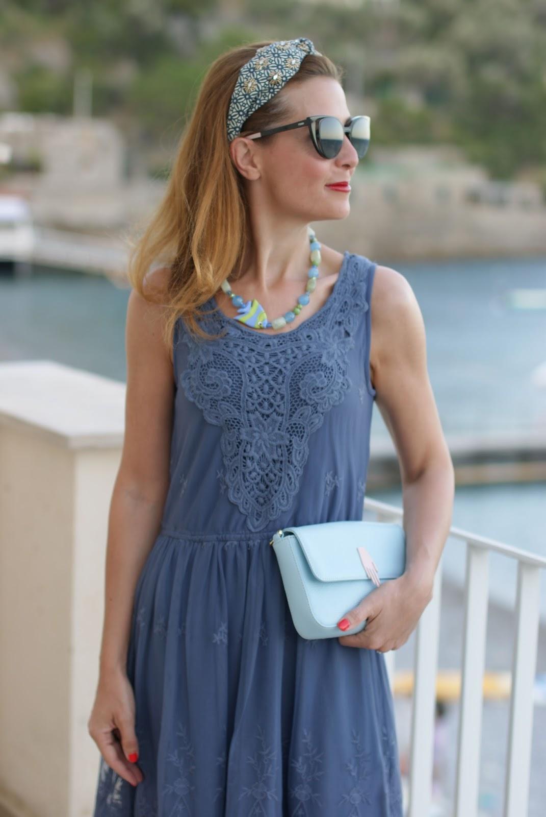 Mismash Bunaka dress and Fendi cat eye sunglasses on Fashion and Cookies fashion blog, fashion blogger style