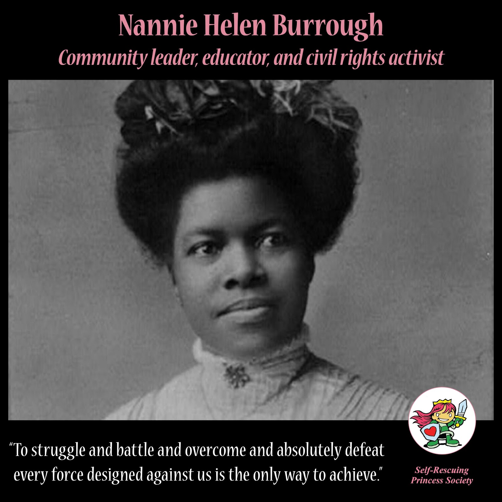 womens history month nannie helen burroughs self