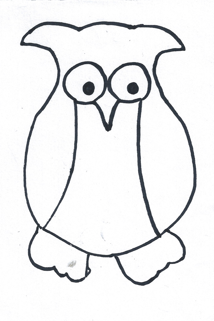 Thrifty Lodge: Make Your Own Owl Card