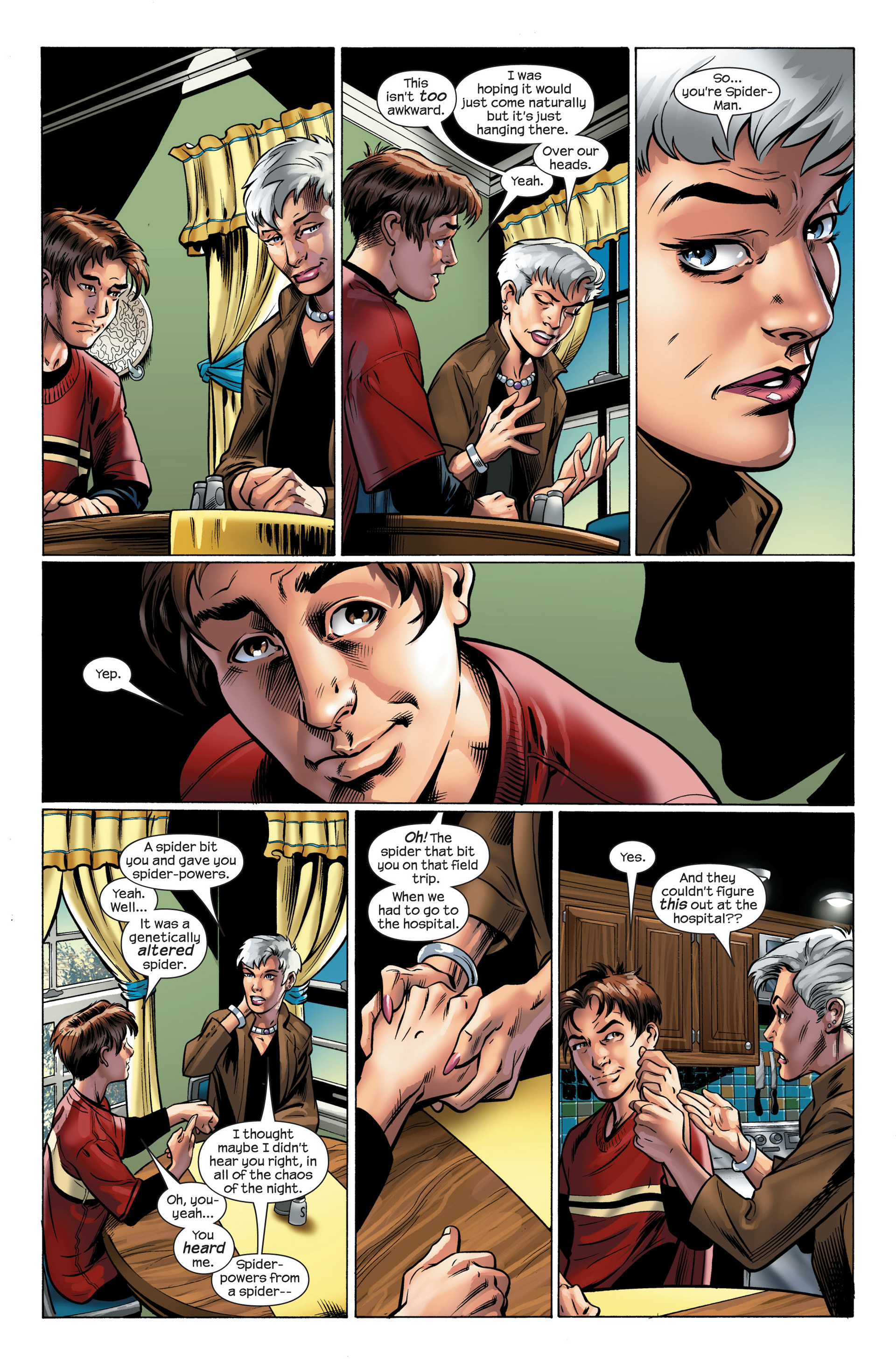 Read online Ultimate Spider-Man (2000) comic -  Issue #111 - 4