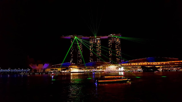 The Laser Show at Marina Bay, Singapore