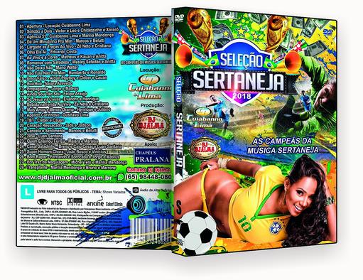 Seleção Sertaneja 2018 – ISO – CAPA DVD