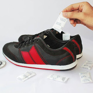 Cara Pakai Silica Gel Pada Sepatu