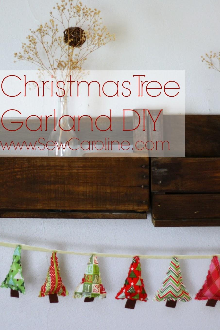 christmas tree garland - Christmas Tree Garland
