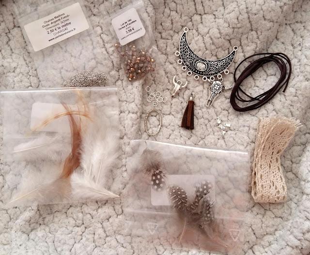 collier, plastron, DIY, boheme, my little quail, perle des loisirs