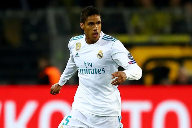 Pelatih Real Madrid Pastikan Varane Tetap Bertahan Di Real Madrid