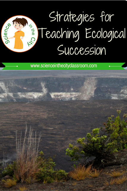 How I use the 5E's model to teach Ecological Succession, includes helpful resources