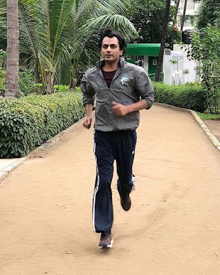 Nawazuddin Siddiqui Running
