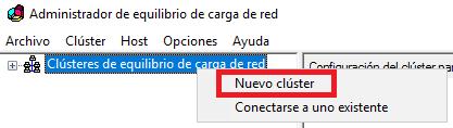 Windows: Balanceo de carga (NLB)