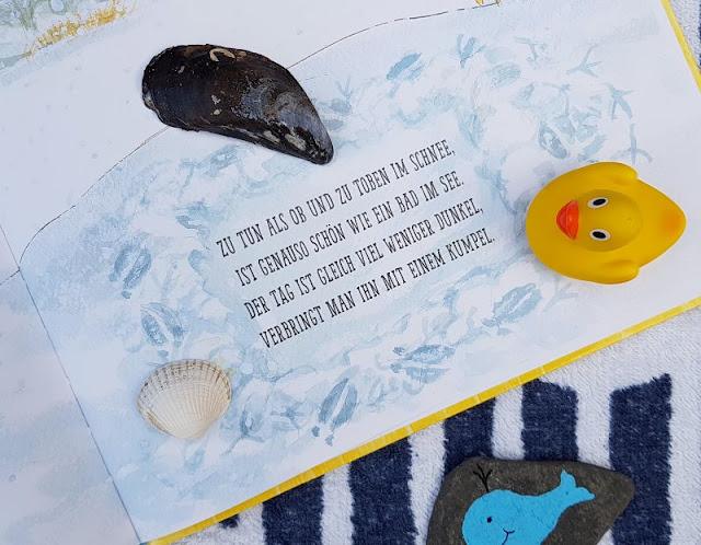 Mama Muh und die Küstenkinder spielen Sommer: Kinderbuch-Rezension und unsere Top 5 Ideen, um den Sommer ins Haus zu holen. Sommer-Gefühl geht mit diesem Buch auch im grauen Winter!