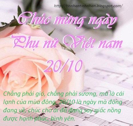 Những tin nhắn 20-10 đẹp nhất, hay mừng ngày phụ nữ Việt Nam