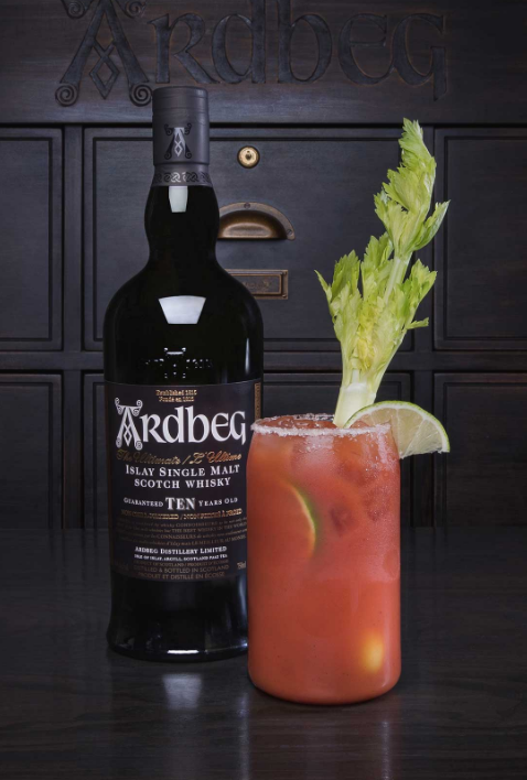 Bloody Caesar whisky Canada Ardbeg cocktail