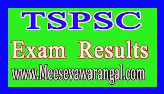 TSPSC 2016 Assistant Hydrogeologist in Ground Water Department Supply Results