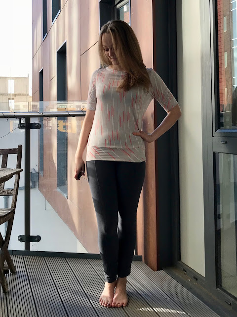 Diary of a Chain Stitcher: Halfmoon Atelier Boat Neck Anegada Top in Bamboo Jersey from Offset Warehouse