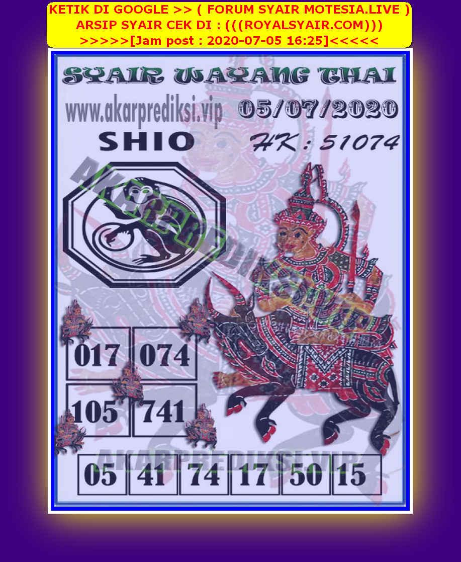 Kode syair Hongkong Minggu 5 Juli 2020 185