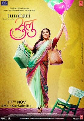 Tumhari Sulu 2017 Hindi Pre-DVDRip 400Mb x264