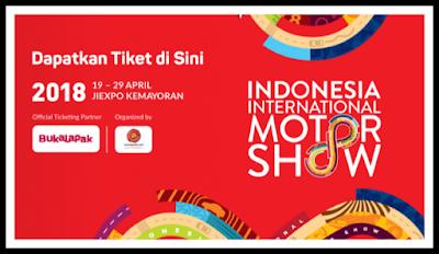 Tiket IIMS tahun 2018