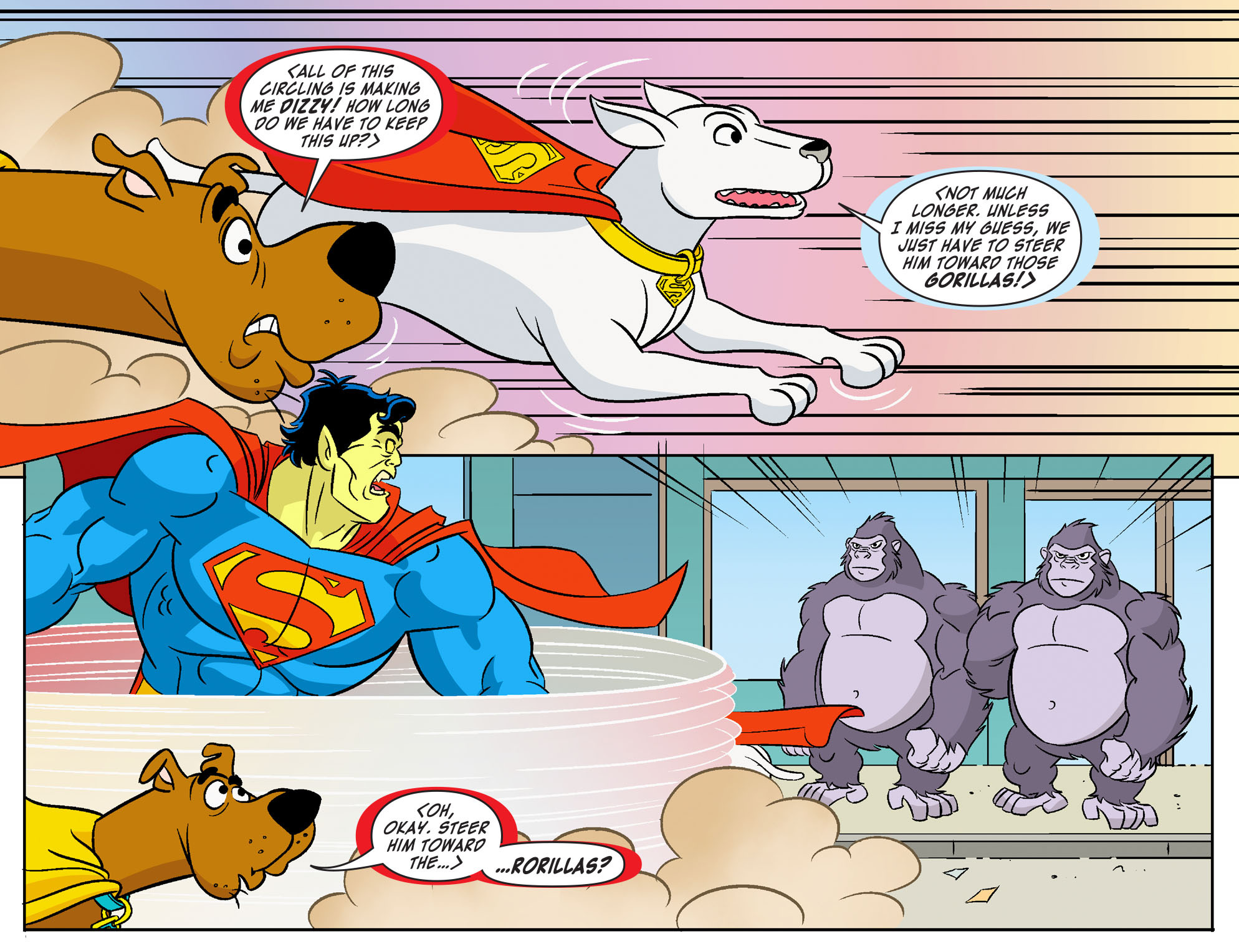 Read online Scooby-Doo! Team-Up comic -  Issue #18 - 19