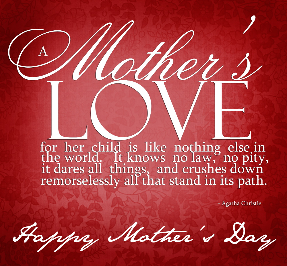 impressing happy mothers day poems from daughter and son