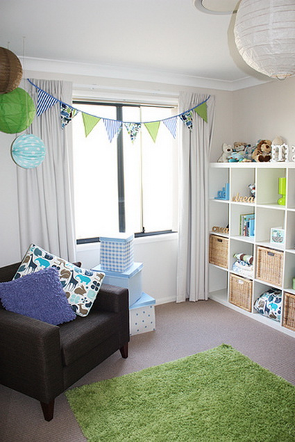 Pennants in children's bedrooms 8