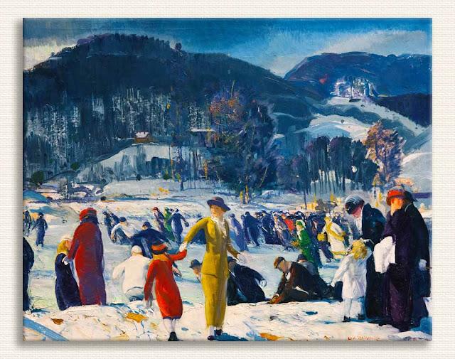 George Wesley Bellows Kış Sevgisi