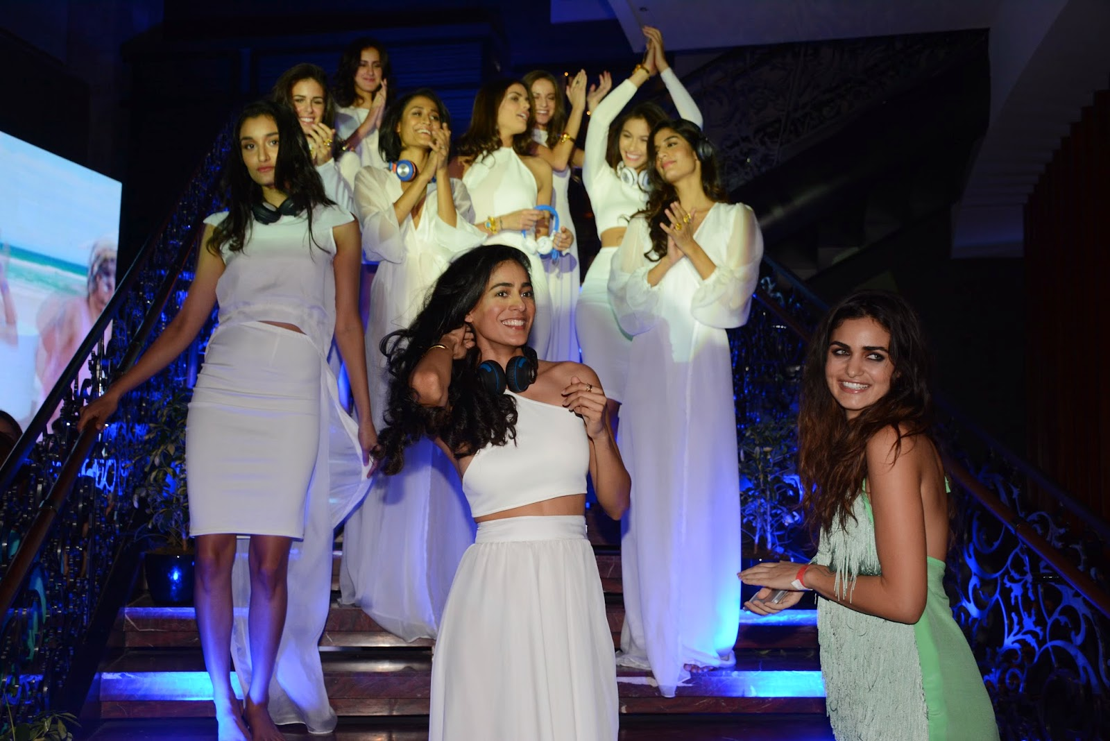 Deme by Gabriella Fashion Show at the JBL Just Be Loud Party