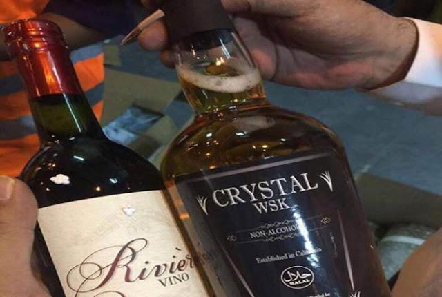 MUI Tegaskan, Botol Whisky Berlabel Halal Hoax