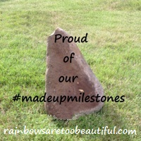 #madeupmilestones by Rainbowsaretoobeautiful