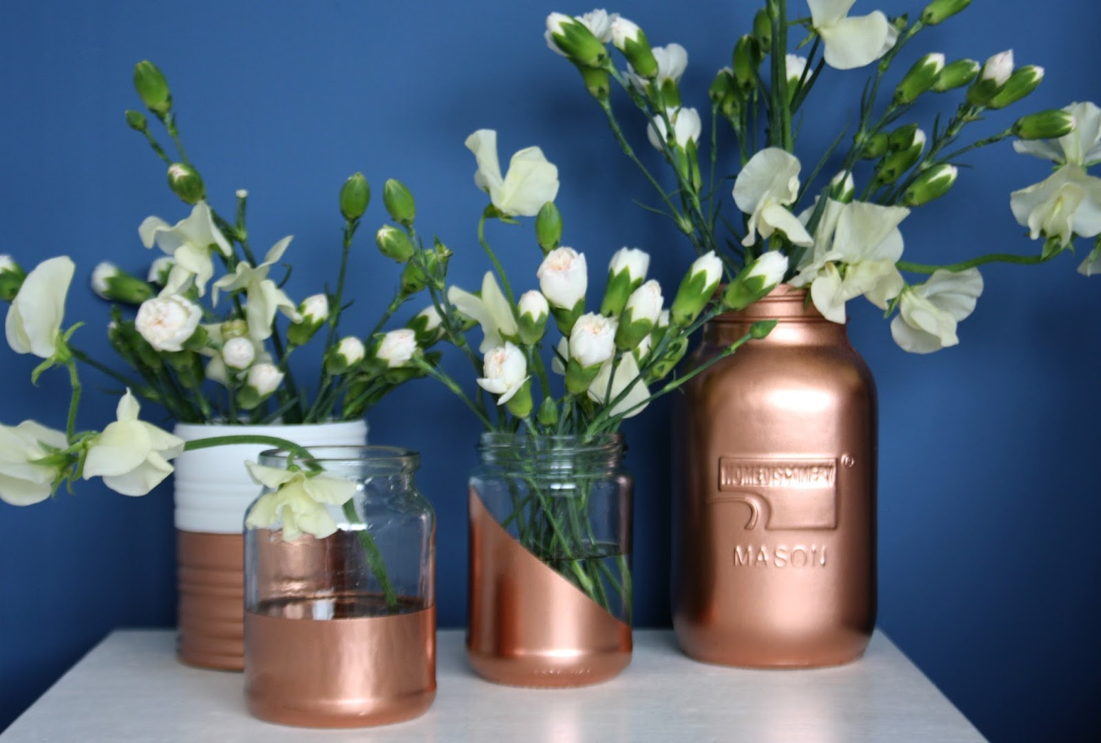 Tales From A Happy House Copper Dipped Pots And Jars