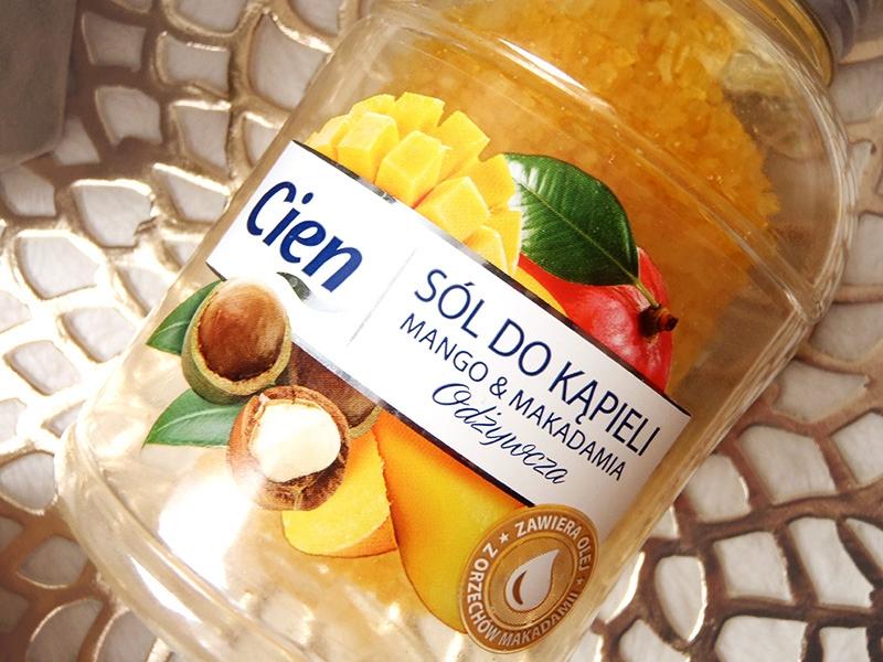 sole do kąpieli Cien, sole do kąpieli z Lidla, cien sól odżywcza