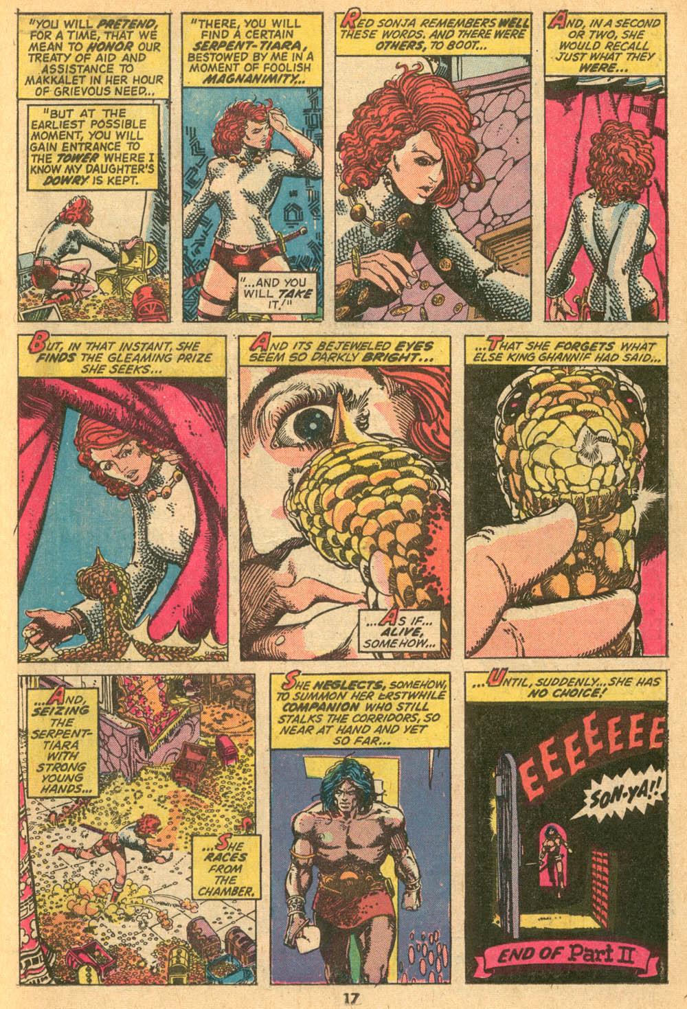 Conan the Barbarian (1970) Issue #24 #36 - English 13