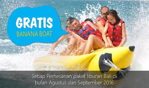 Promo Gratis Banana Boat Bali