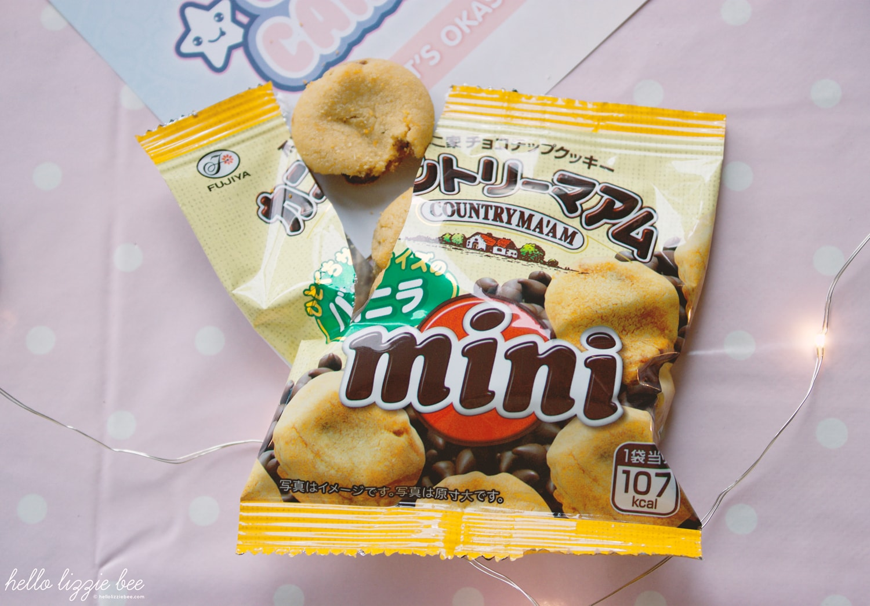 Fujiya Country Ma'am Mini Vanilla Cookies