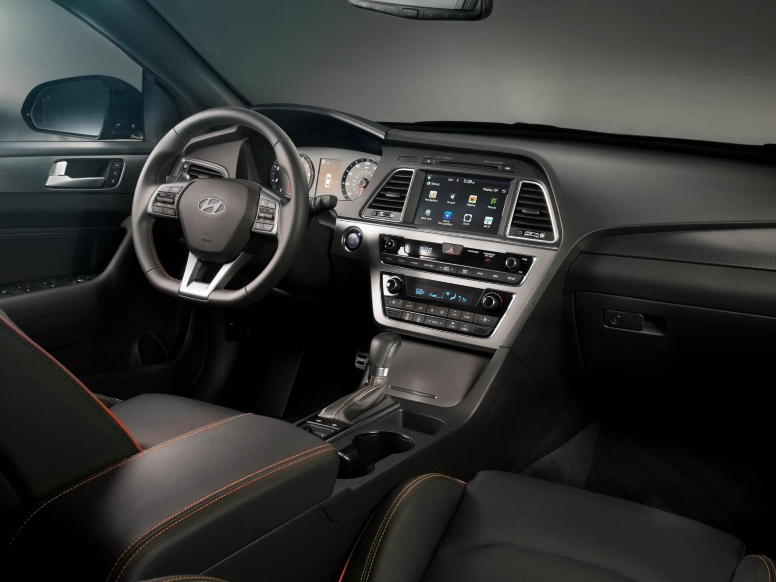 Novo Hyundai Sonata 2015 Chega Aos Eua Pre 231 O R 47 Mil