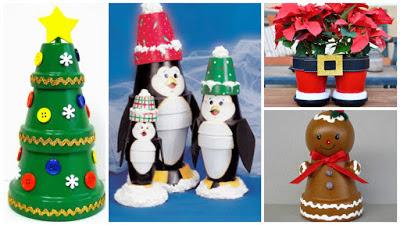 adornos-navideños-macetas