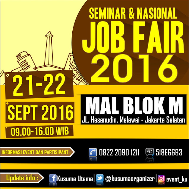 Seminar dan Nasional Job Fair - Mall Blok M