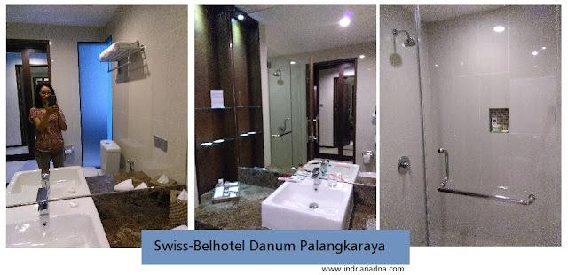 area kamar mandi swiss-belhotel  danum palangkaraya
