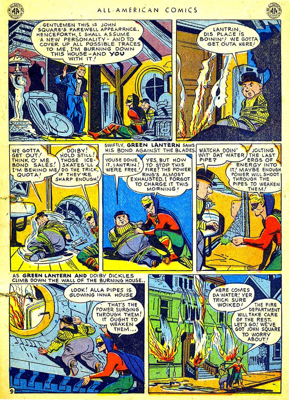 Read online All-American Comics (1939) comic -  Issue #65 - 11