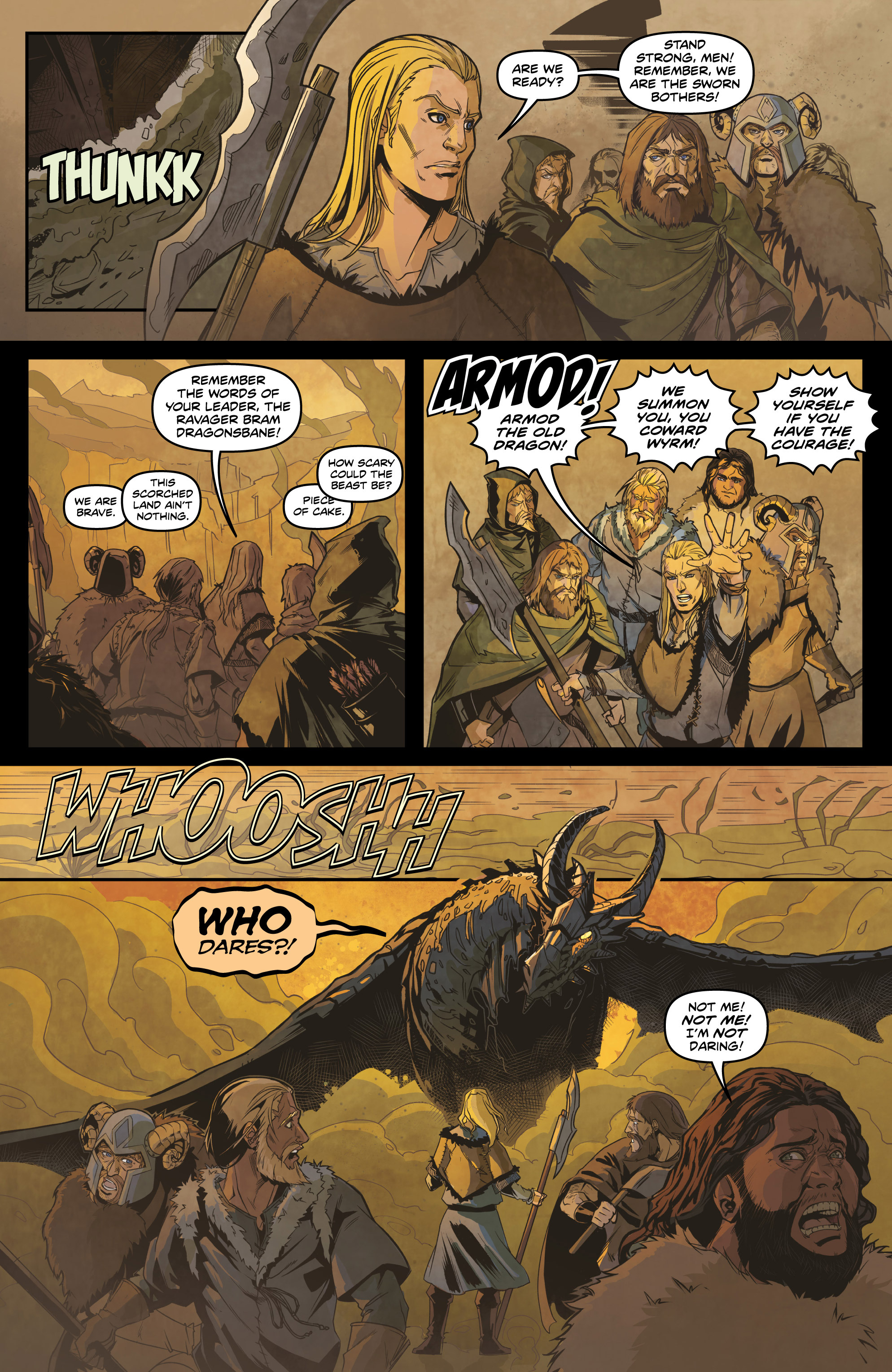 Read online Rogues! (2014) comic -  Issue #4 - 7