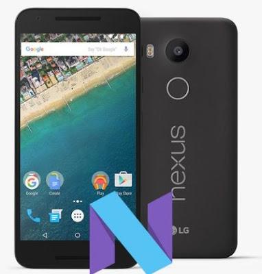Root LG Nexus 5X Nougat