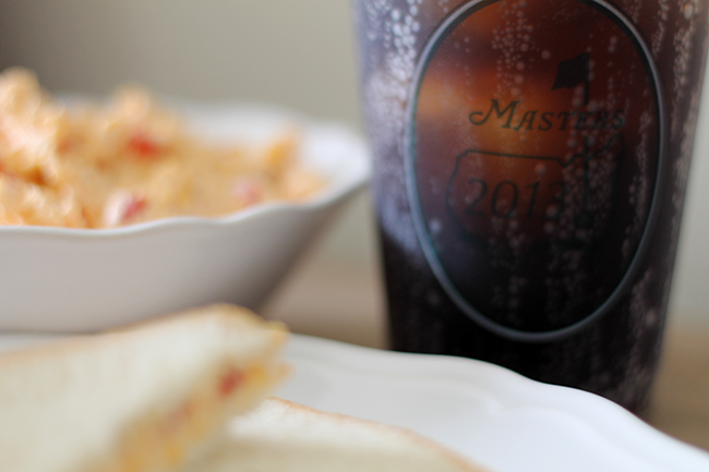 Pimento Cheese Recipe {The Masters} // A Style Caddy