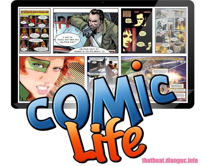 Download Comic Life 3.5.9 Full Cr@ck + Portable – Phần mềm tạo truyện tranh chuyên nghiệp